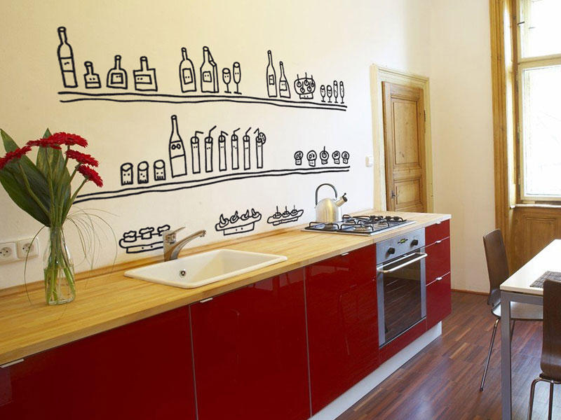 C mo decorar las paredes de la cocina casa y dinero for Objetos para decorar cocinas