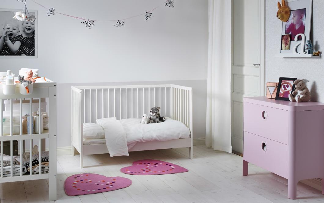 Como decorar habitacion bebe nia finest zonas de estudio - Como decorar una ...