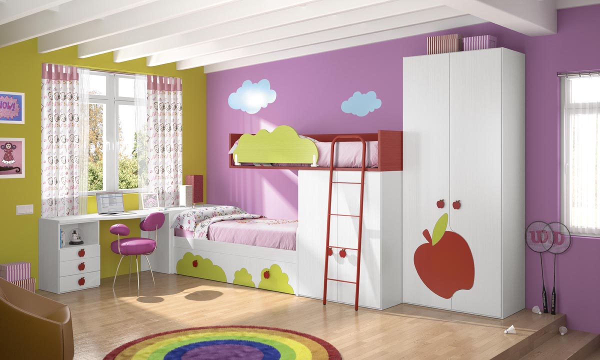 Decoracin dormitorio nia best free ideas para decorar el - Decoracion habitacion infantil ...