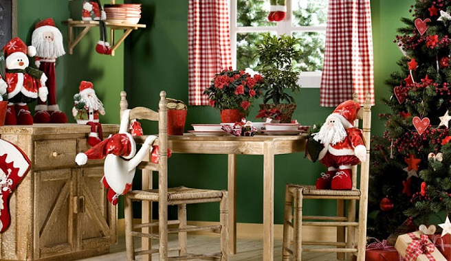 Decoracion Navidad Casa Y Dinero - Decoracion-navidea-interiores