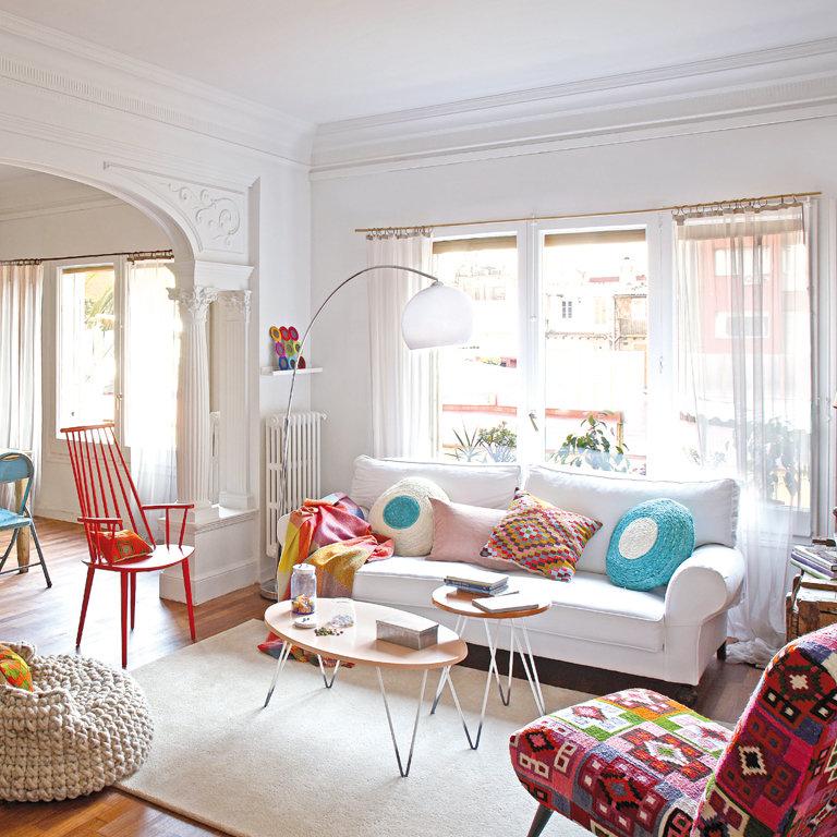 Cuatro estilos para decorar tu salón
