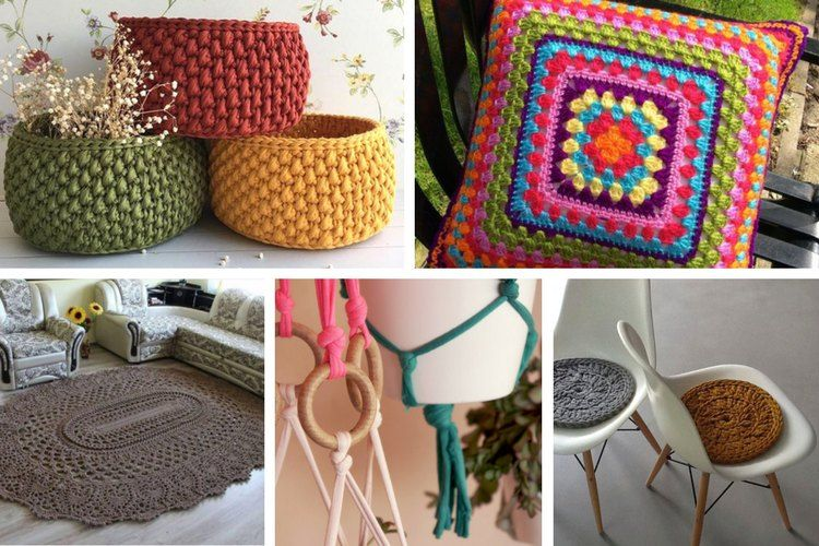 decoración crochet