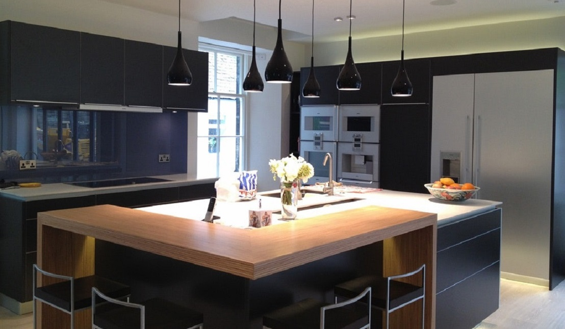 El mar en tu cocina casa y dinero - Cocina con isla ...