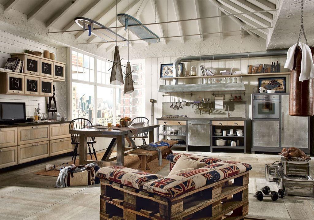 Decora tu casa al más puro estilo industrial